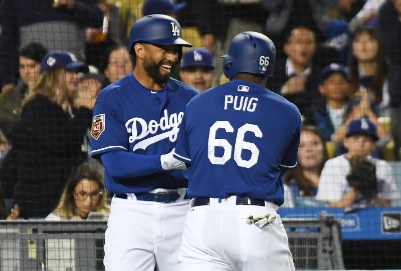 MLB notebook  Dodgers deal Puig 8498cf8631c