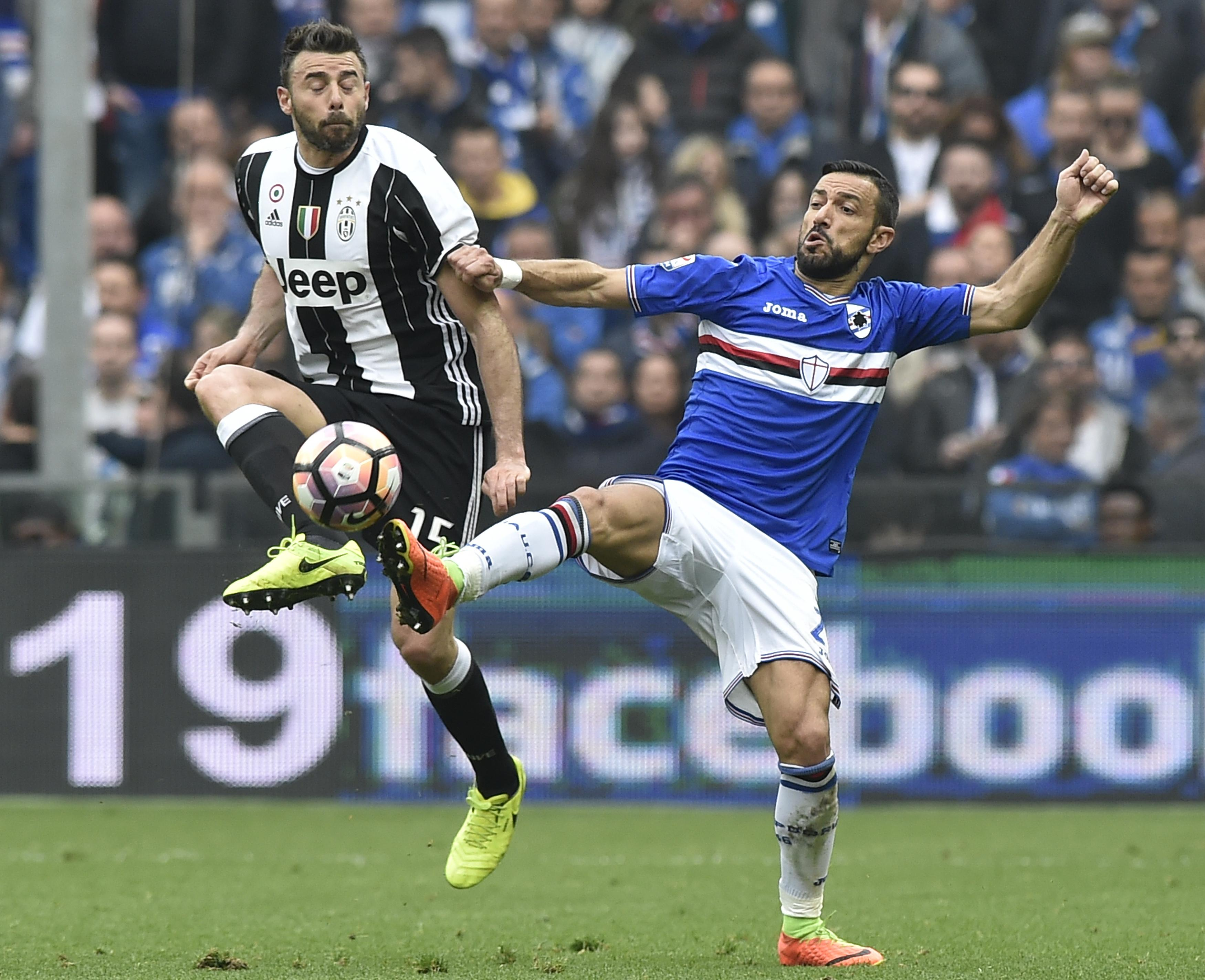 Quagliarella strikes again, VAR works overtime in Samp win
