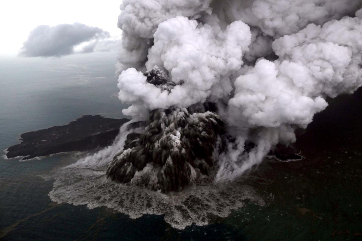 orders flights to steer clear of erupting anak krakatau