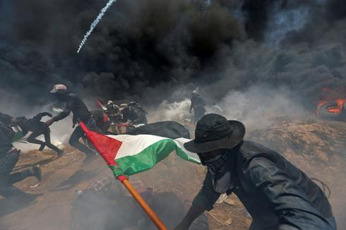 A year of Israeli-Palestinian conflict