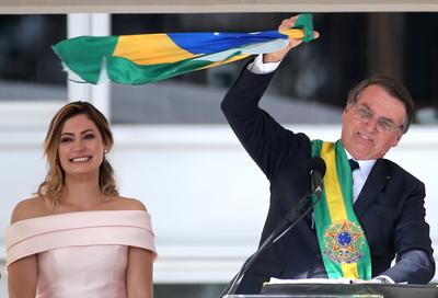 Brazil's Bolsonaro takes office