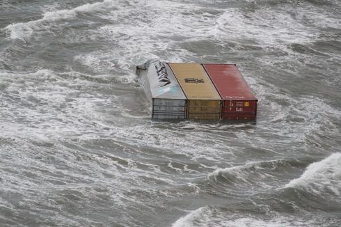 Container spill off Dutch coast