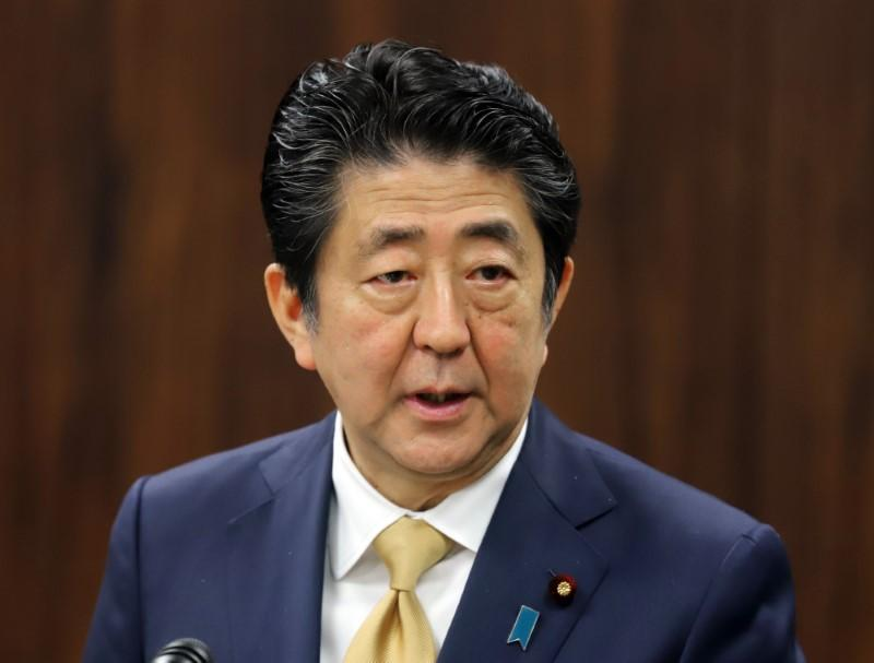 Image result for Japan PM Abe says he plans to push for peace treaty with Russia