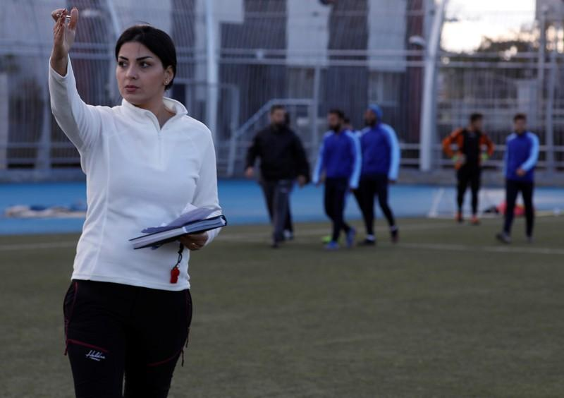 Soccer: Woman coach scores wins for Syrian men's team