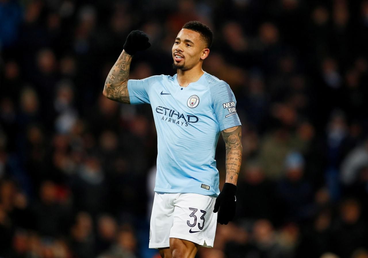 Image result for Jesus eyes more game time after four-goal salvo in City win