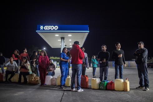 Widespread gas shortages in Mexico