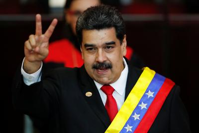 Venezuela's Maduro sworn in for second term