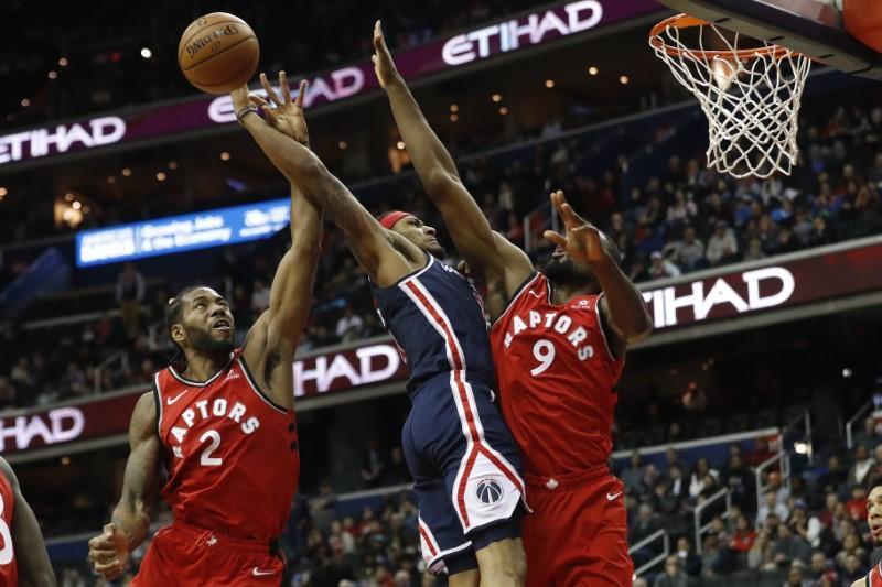 NBA roundup: Ibaka lifts Raptors over Wizards in 2OT