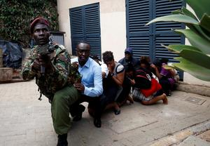Gunmen attack Kenyan hotel compound