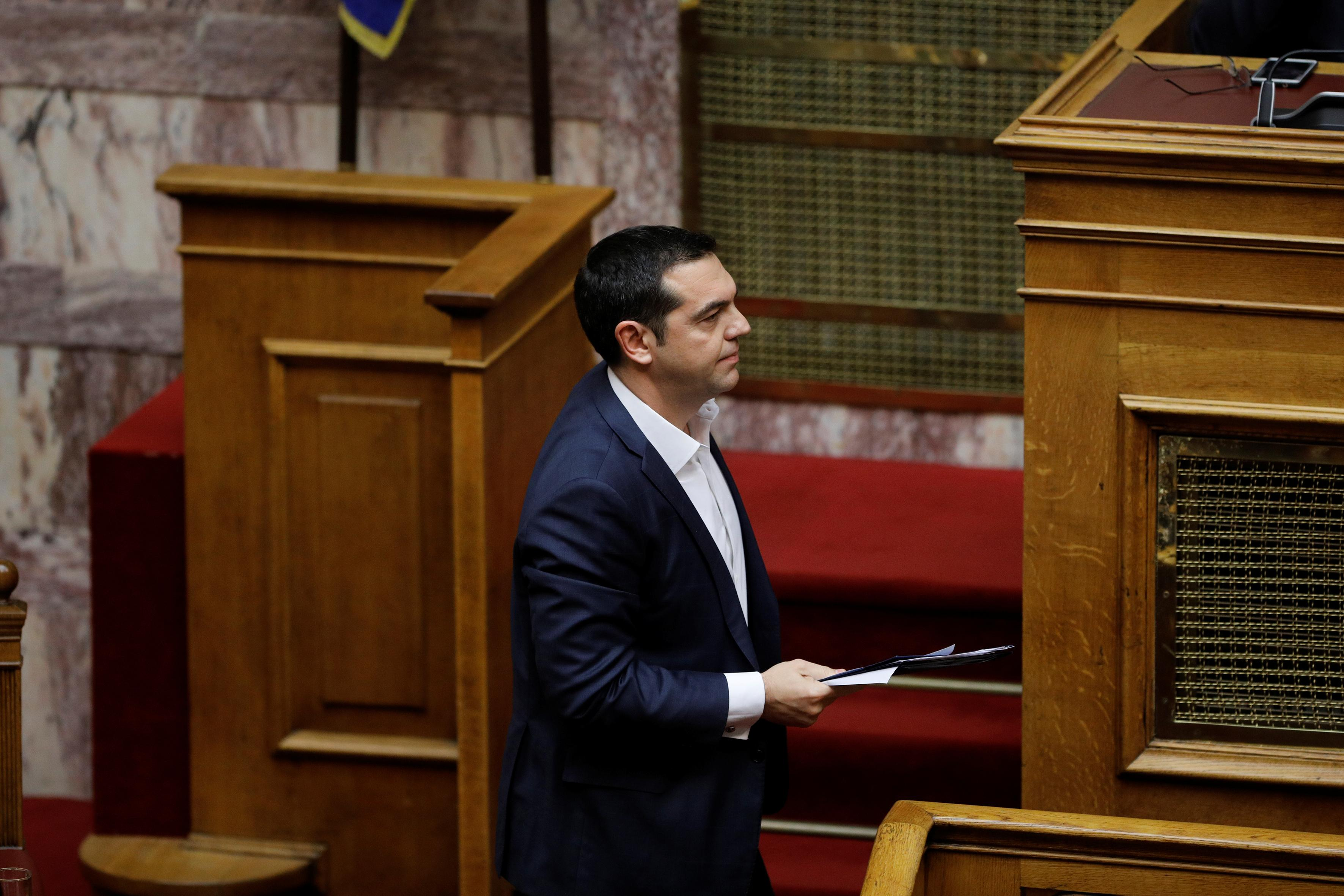 Greek PM says winning confidence vote is vote for stability