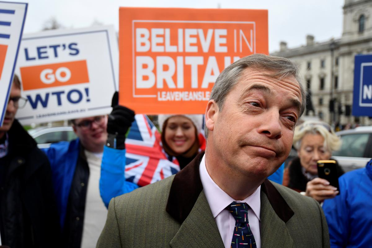 UK headed for Brexit delay and second referendum - Farage