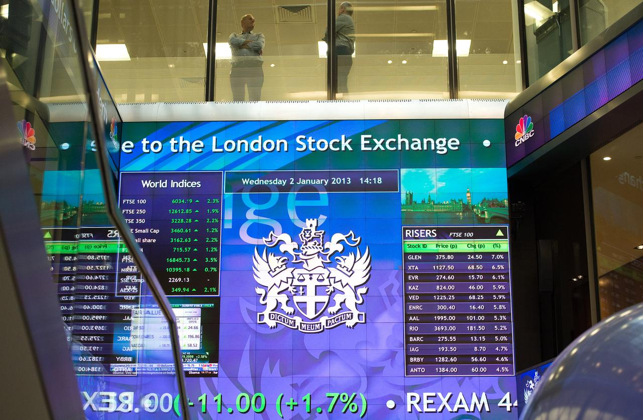 Image result for British stocks shrug off politics as results from Sage, ABF drive big moves