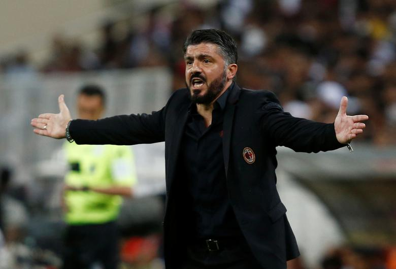 Ac Milan Coach Gattuso Handed One Game Ban For Threatening Behaviour Reuters Com