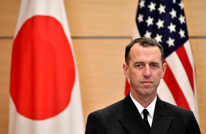 米海軍トップ、米空母が台湾海峡通過する可能性排除せず