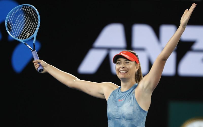 Sizzling Sharapova back in Grand Slam contention