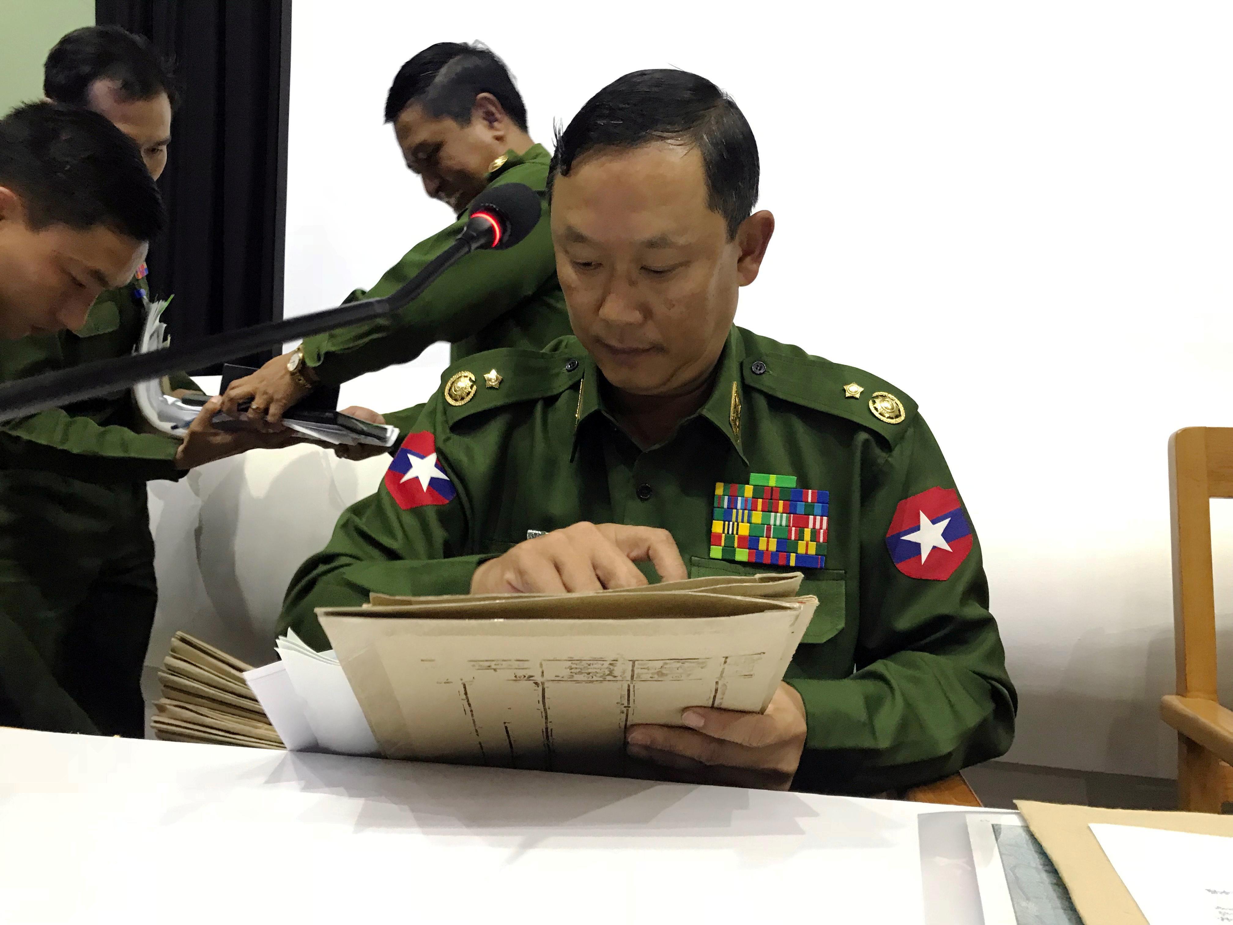 Myanmar army kills 13 rebels in Rakhine clashes: military spokesman