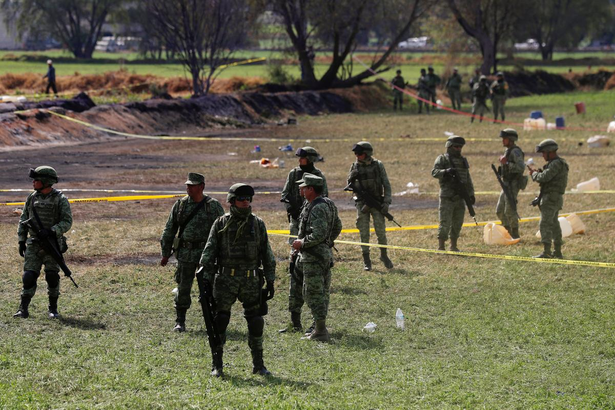 Mexico fuel pipeline blast kills 71, witnesses describe horror