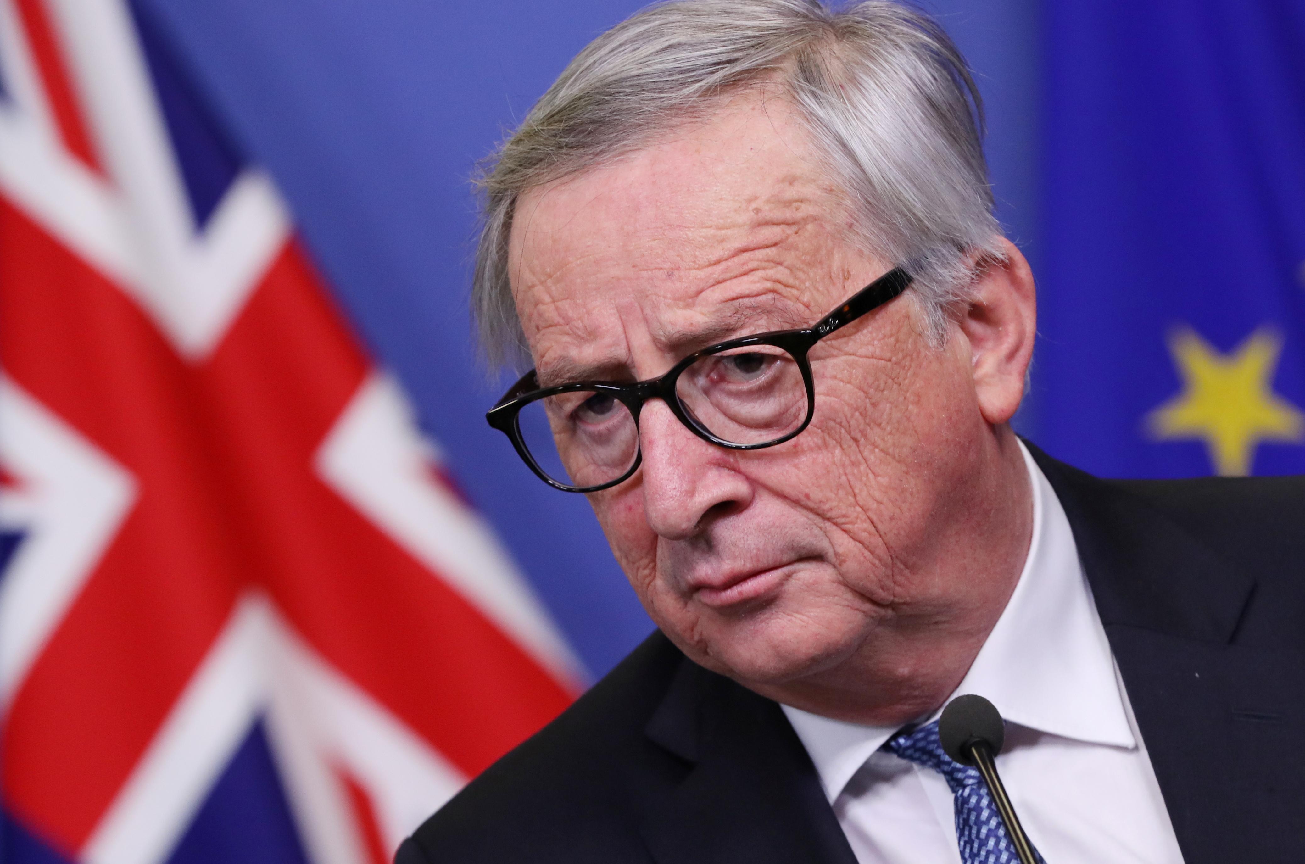 EU's Juncker tells Britain's May: Brexit deal won't be renegotiated
