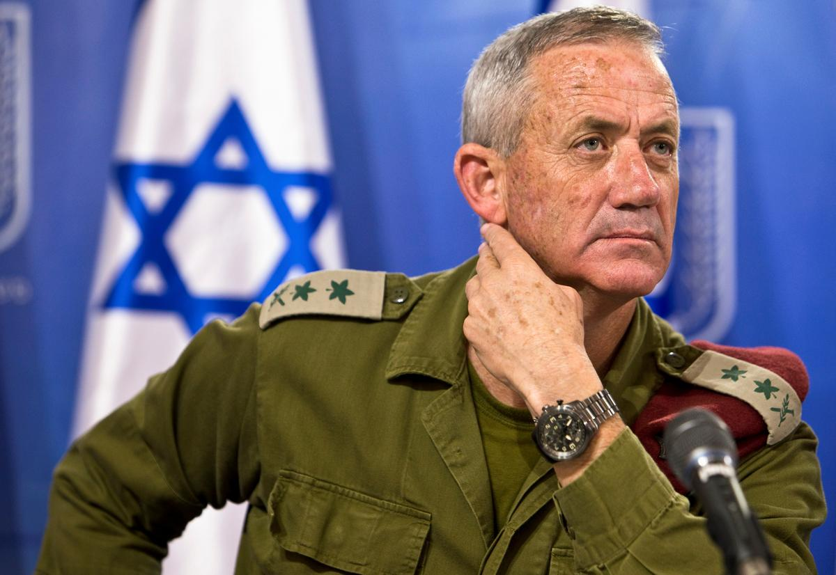 Netanyahu's toughest ballot rival, ex-general Gantz, breaks silence