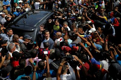 Venezuelans rally against Maduro's government in Caracas