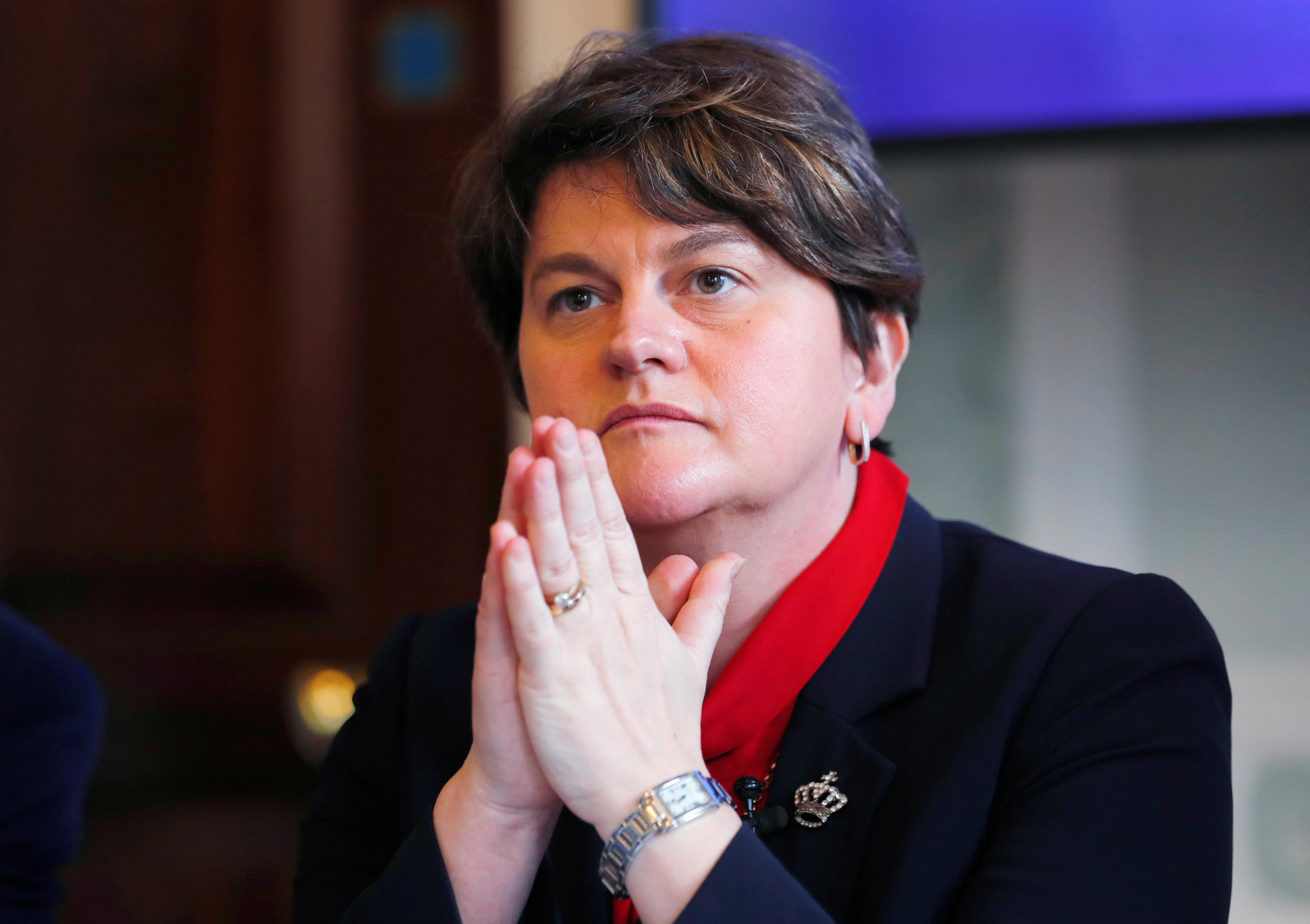 01ed76fcf6d4 LONDON (Reuters) – British Prime Minister Theresa May will meet with the  leader of Northern Ireland s Democratic Unionist Party Arlene Foster on  Wednesday ...