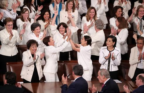 House women wear white