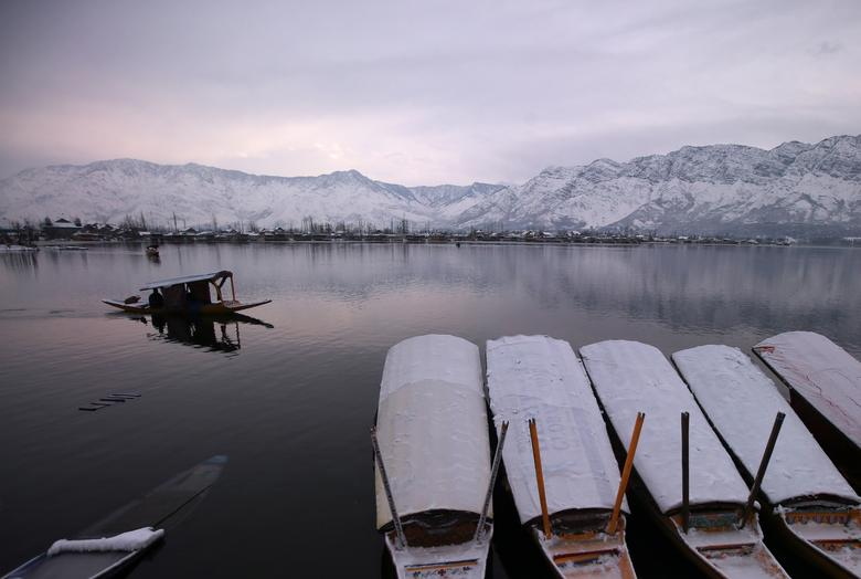 Winter In Kashmir Reuterscom