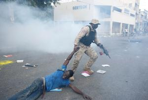 Anti-government protests in Haiti