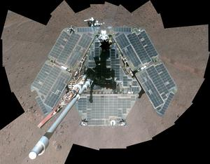 Mars Opportunity rover goes dark