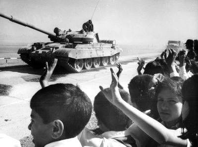 When the Soviets left Afghanistan
