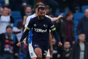 Cole scores first FA Cup goal but Derby exit at Brighton