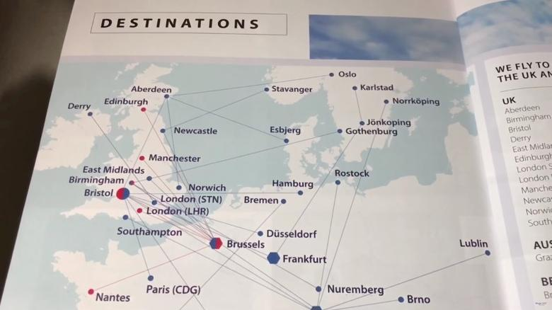 Youtube Map Of Ireland.Uk Regional Airline Flybmi Goes Into Administration Blaming Brexit