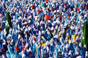 German town breaks record for most Smurfs
