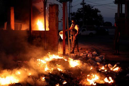 Anti-government protests in Haiti