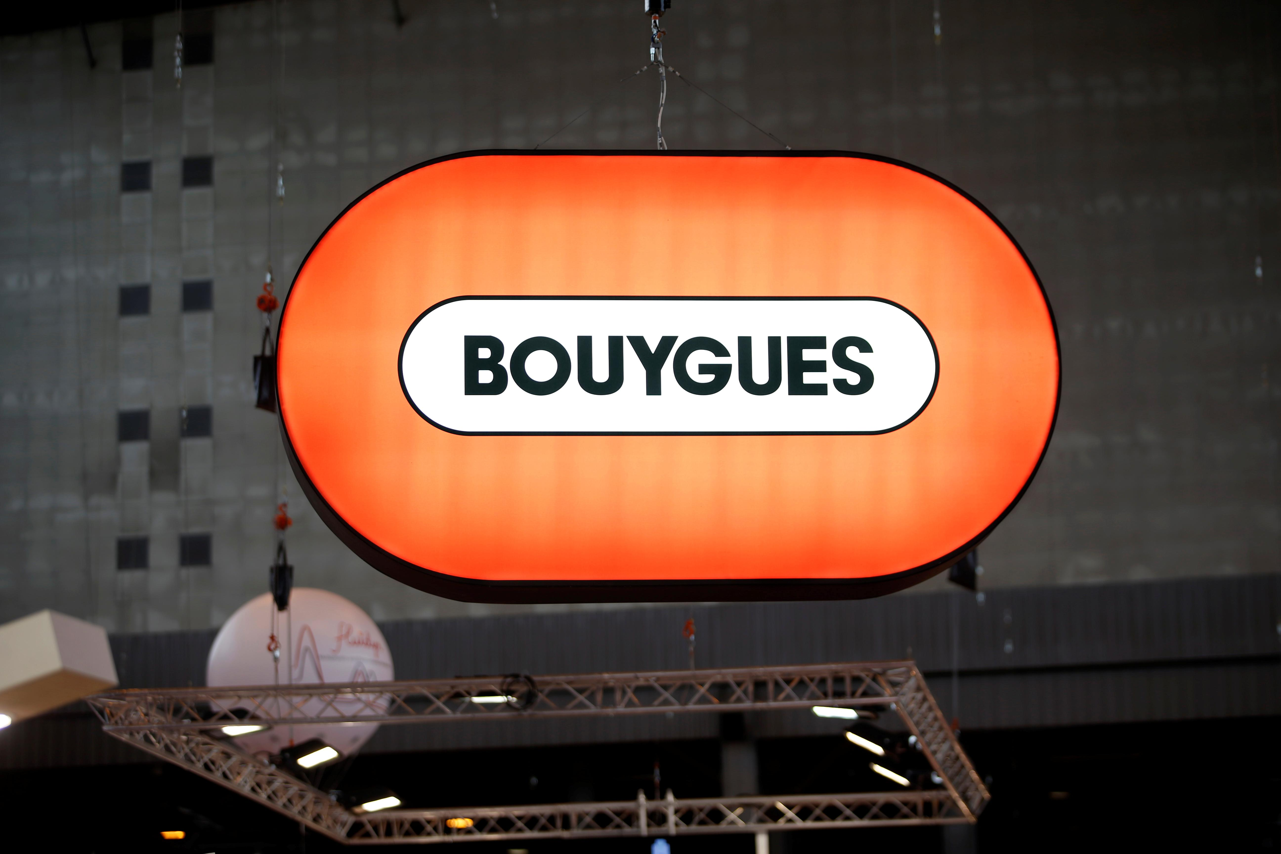 French group Bouygues' bullish 2019 outlook lifts company's shares