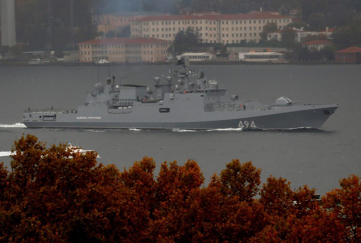 1870497edc82 Despite Putin's swagger, Russia struggles to modernize its navy - Reuters