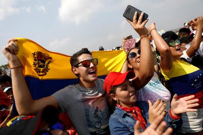 'Venezuela Aid Live' concert
