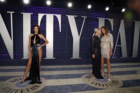 Vanity Fair Oscars Party style