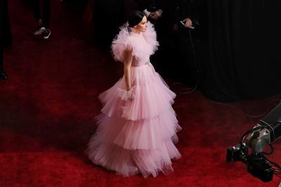 Pink parade at the Oscars