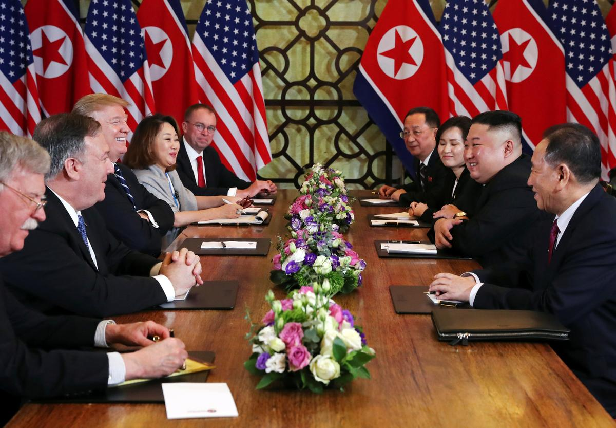 Trump, North Korea's Kim end Vietnam summit with no agreement