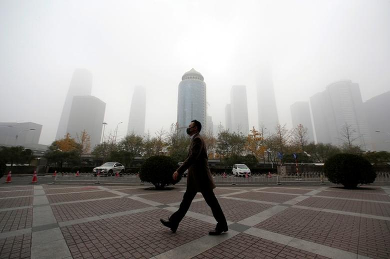 China's capital city Beijing issues second-level smog alert
