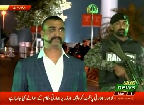 Pakistan releases captured Indian pilot