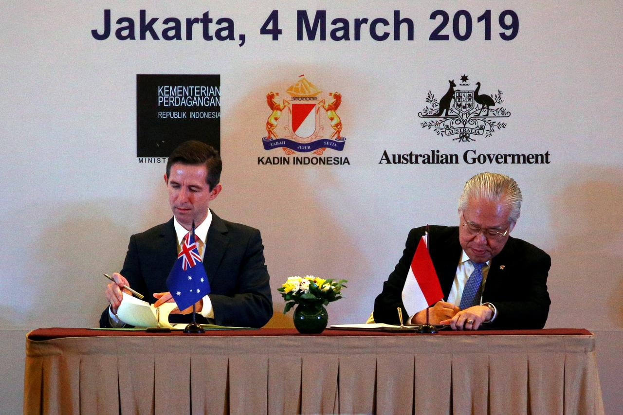 Indonesia, Australia sign partnership in bid to boost trade