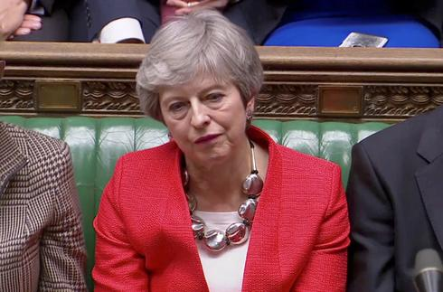 Parliament rejects May's Brexit deal again