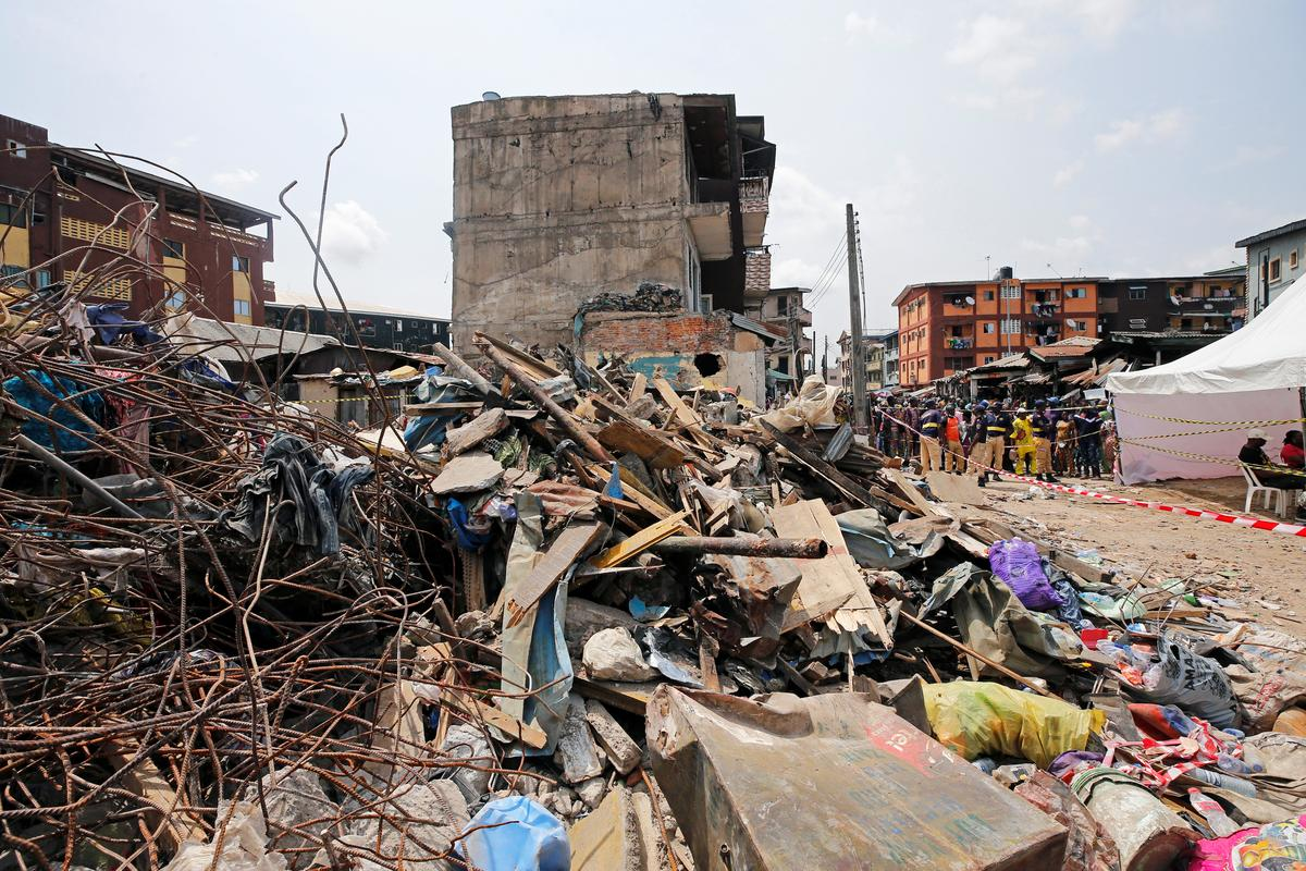 Nigeria school building collapse killed 20: Lagos health official - Reuters