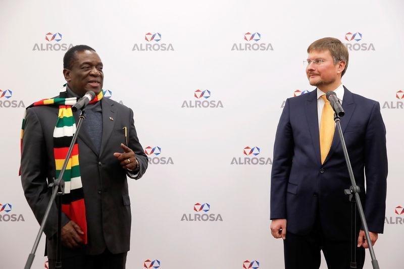 Russian diamond miner Alrosa wants controlling stake to mine in Zimbabwe