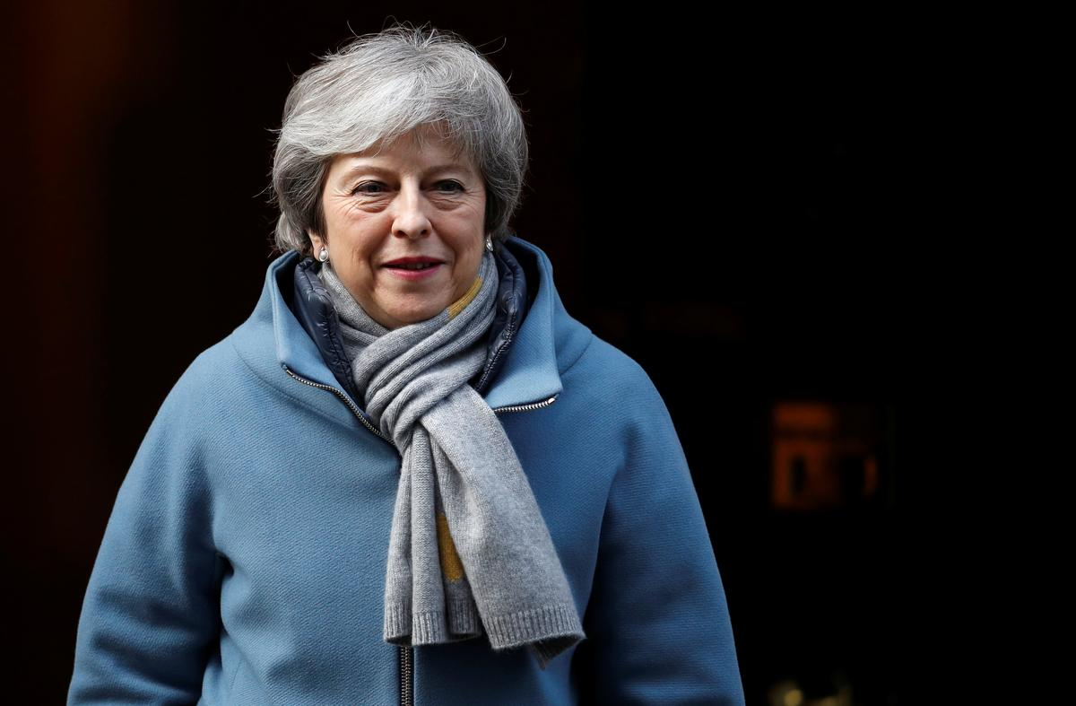 British PM May to request short delay to Brexit