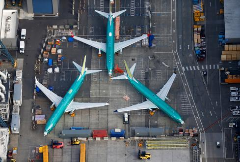 Above the Boeing 737 MAX factory