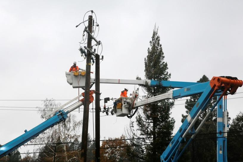 reuters.com - Jim Christie and Nichola Groom - PG&E bankruptcy threatens major battery storage project