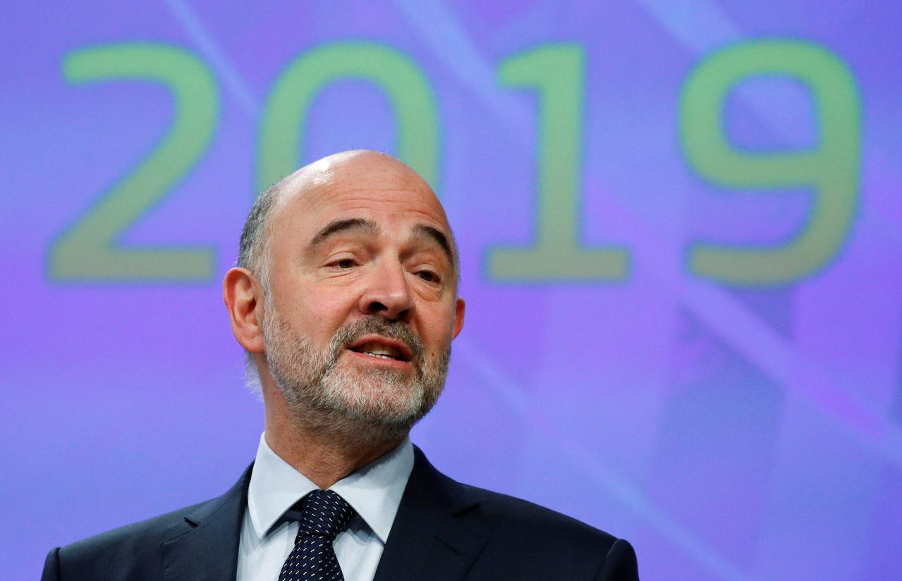 Image result for Britain can still avoid no-deal Brexit, says EU Commissioner Moscovici